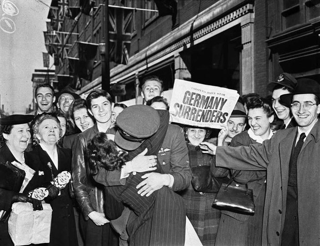 VE Day - Victory in Europe.