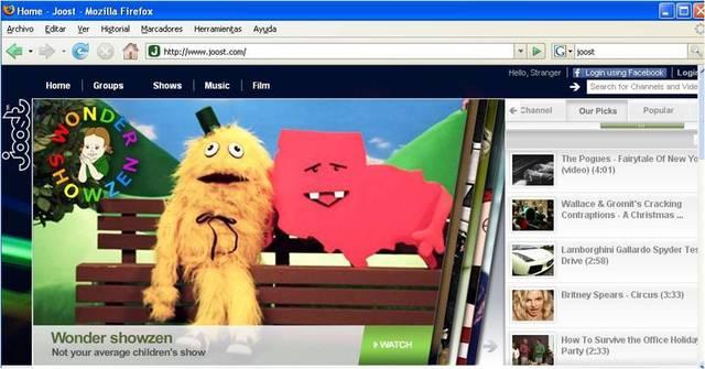 Tv en la web
