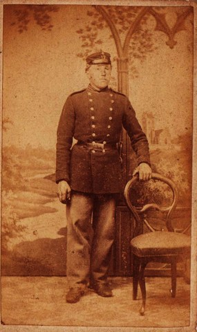 Rasmus Jacobsen, soldat i Fredericia