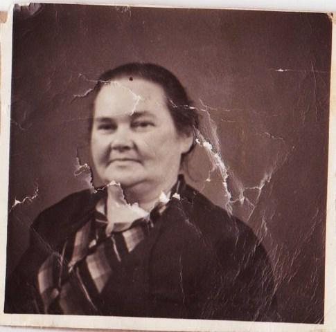 Morfars mor Jenny Jacobsen, ca. 50 år