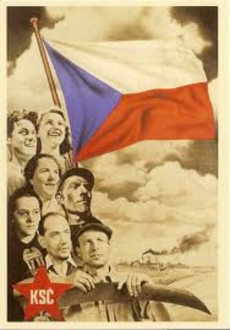 Czechoslovak coup d´état
