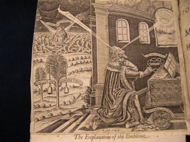 Charles I imprisoned