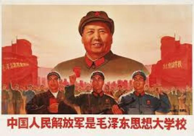 Mao Zedong takes control