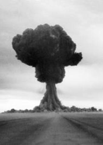 Soviet Union's first atomic bomb