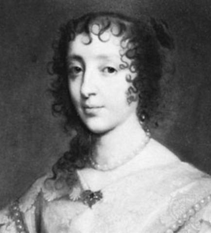 Charles I marries