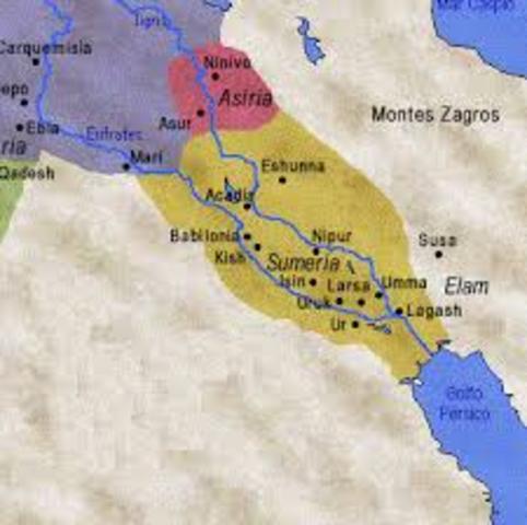 Civilización Sumeria (3000 a.c.)
