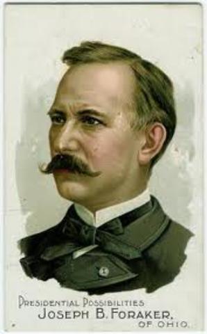 Ley Foraker - 1900