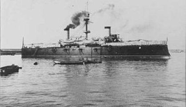 Batalla Naval de Santiago de Cuba (Cuba)