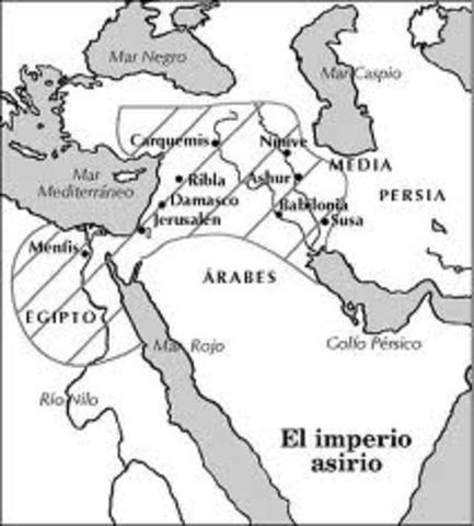 Los Asirios (siglo XIV a.c.)