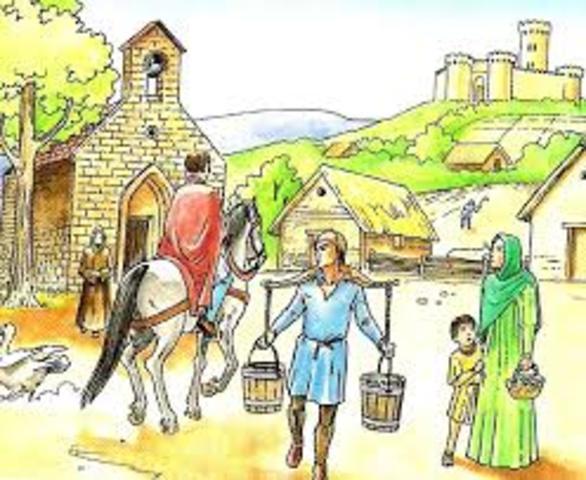 Periodo Medieval: Organización del trabajo 1
