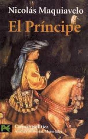 Renacimiento: Maquiavelo (1469 - 1527)