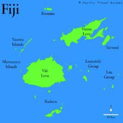 Moved to Fiji