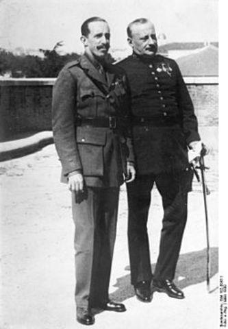 La Dictadura de Primo de Rivera (1923-1930).