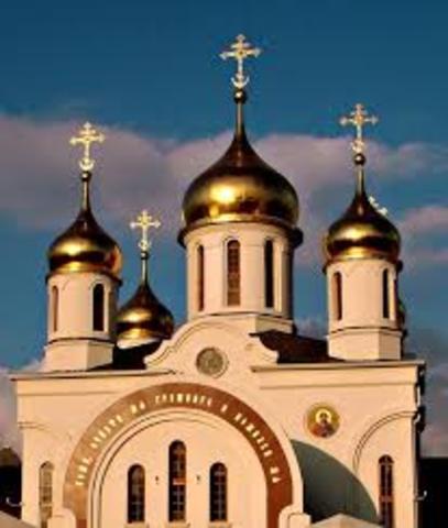 Adoption of Eastern Orthodoxy