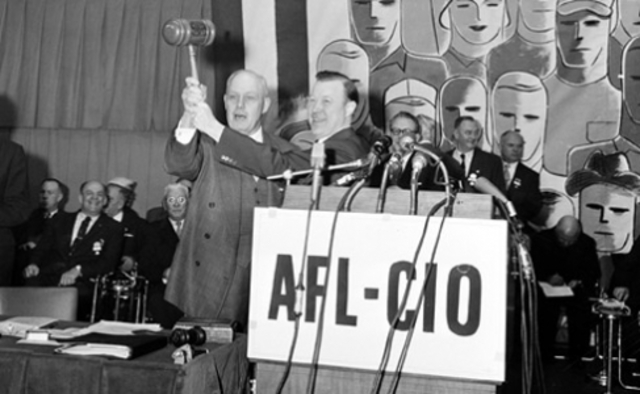 AFL and CIO merger