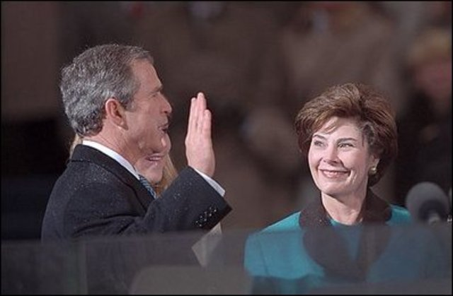 George W. Bush First Inauguration
