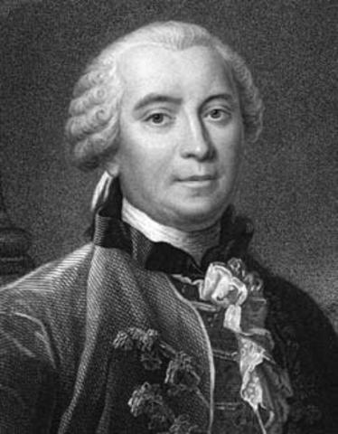 Birth of Georges-Louis Leclerc, Comte de Buffon
