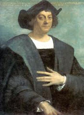 Columbus discoveres America