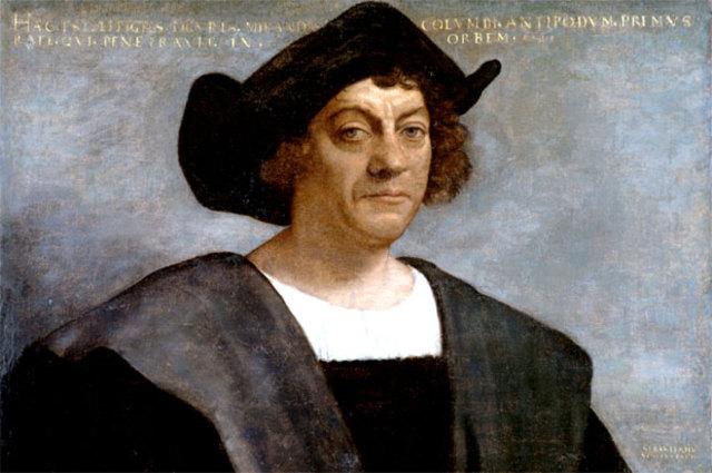 Columbus opdager Amerika