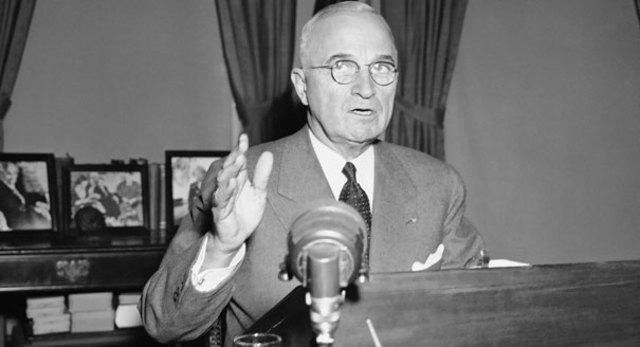 Harry Tuman speech