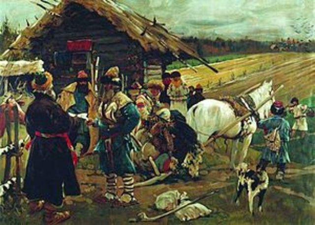 Emmancipation of Russian Serfs