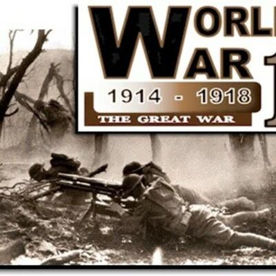 World War 1 Review timeline