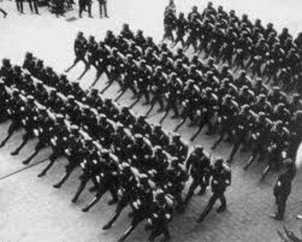 Militarism in World War 1