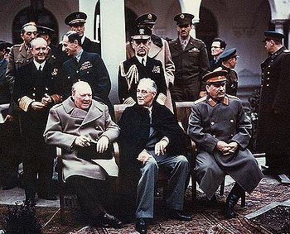 Yalta Conference - Cold War Begins