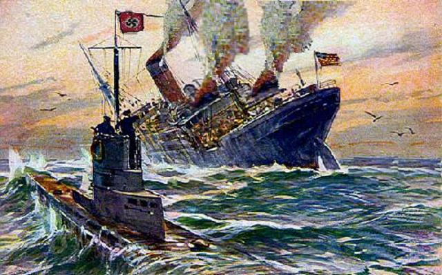 Germany returned to its Policy of unrestricted submarine warfare