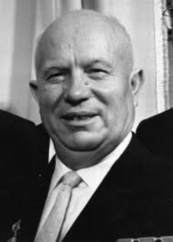 Nikita Khrushchev takes over