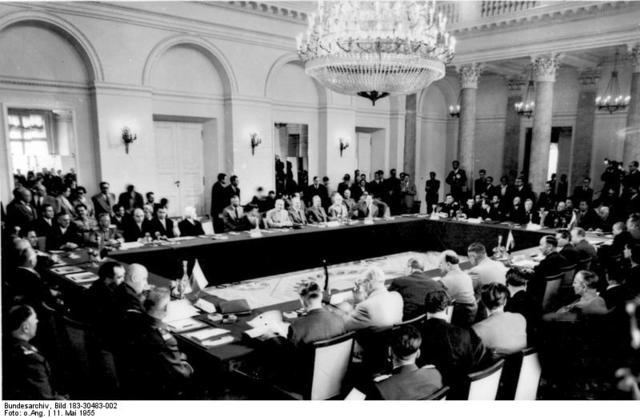 Warsaw Treaty Organization established