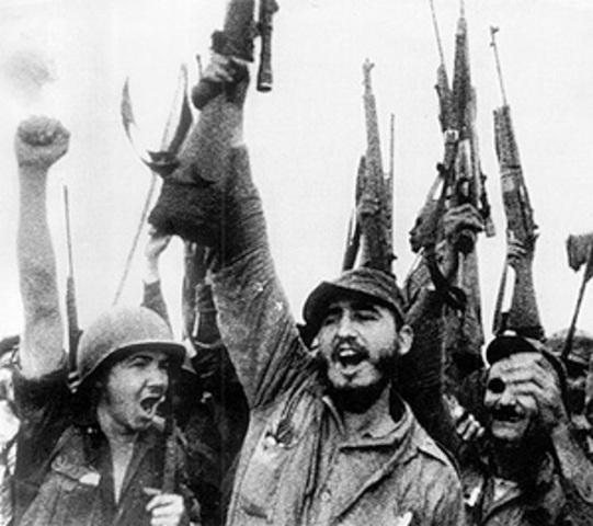 Fidel Castro Overthrows Batista Regime