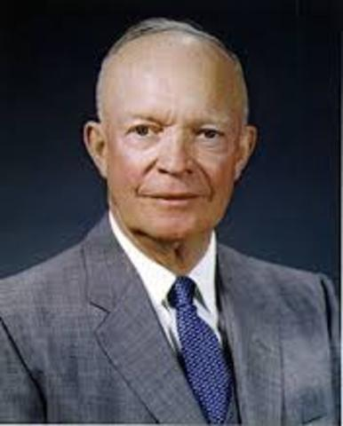 Eisenhower reelected