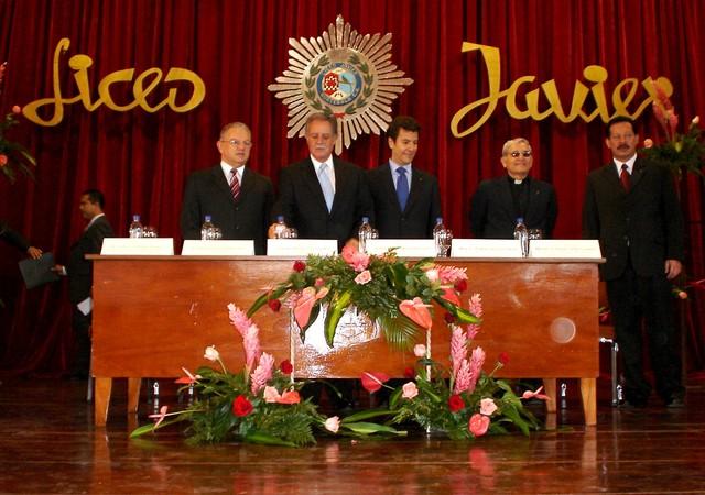 Graduación del Liceo Javier