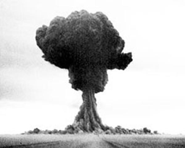 1st Soviet atomic test