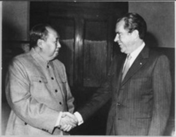 Mao Tse-tung created the PRC
