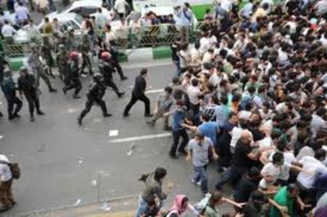 Riots Break Out
