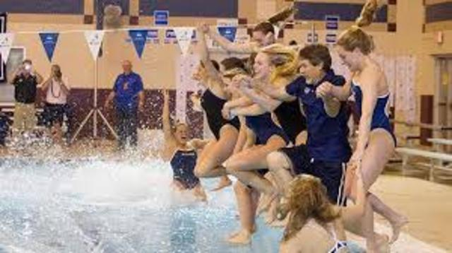 Swimming a Womens NCAA sport