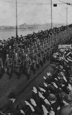 Chapter 17 Section 1 Troops enter Rhineland