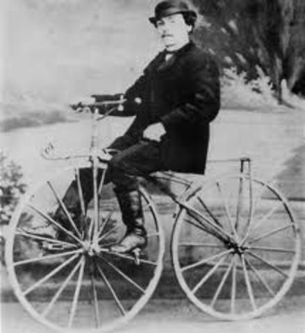 Modern Bike Invented
