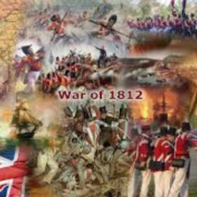 British v.s Americans in the War of 1812  timeline