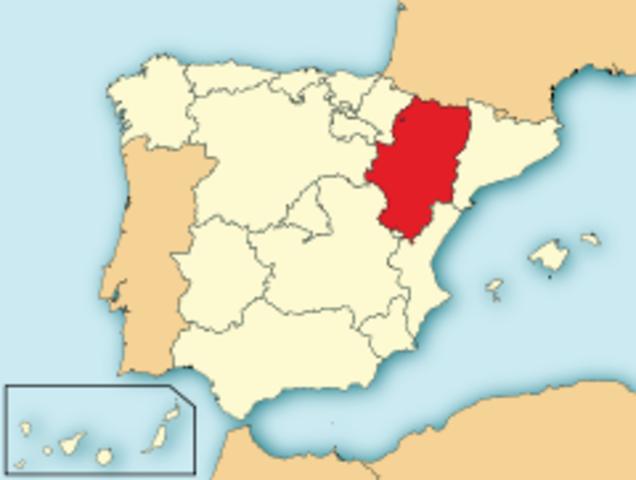 Sefunda el reino de Aragón