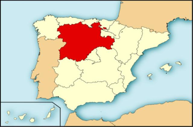 Se crea el reino de Castilla