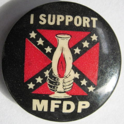 Creation of the Mississippi Freedom Democratic Party and SNCC