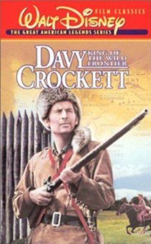 Davy Crockett and coonskin caps