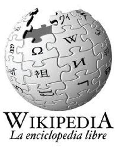 Lanzamiento de Wikipedia