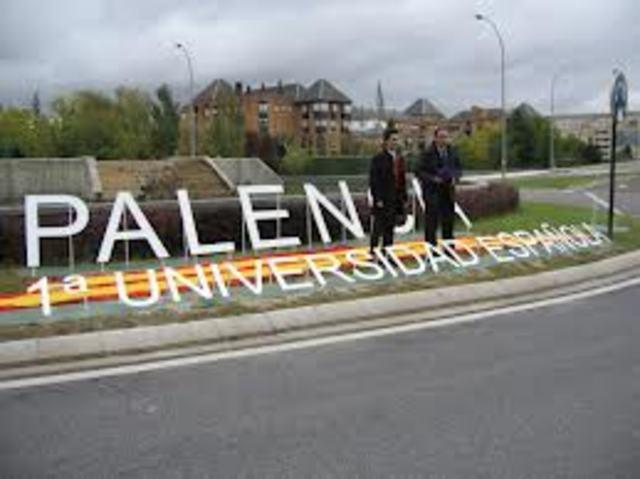 la primera universidad en Palencia