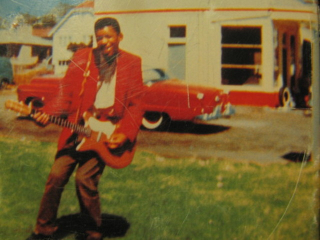 Jimi's First Guitar