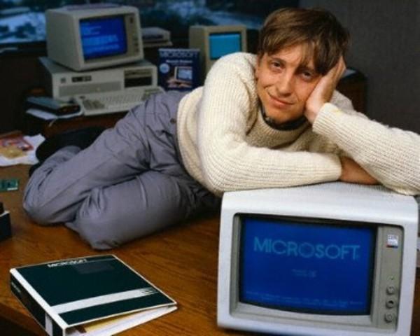 Bill Gates was born.