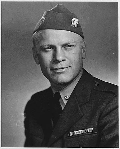 Gerald Ford was born.